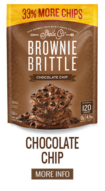 Brownie Brittle Chocolate Chip - More Info