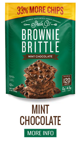 Brownie Brittle Mint Chocolate - More Info