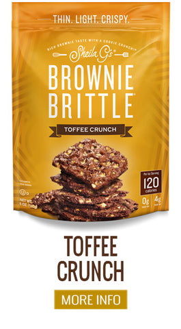 Brownie Brittle Toffee Crunch - More Info