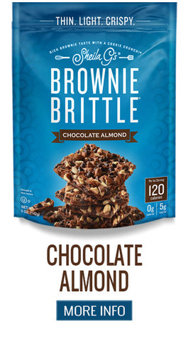 Brownie Brittle Chocolate Almond - More Info