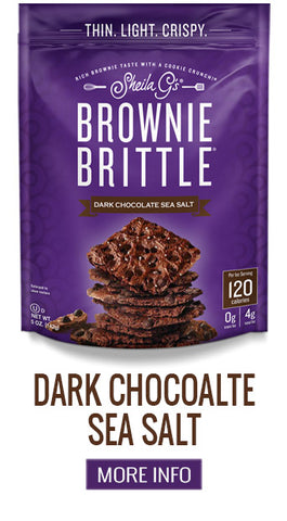 Brownie Brittle Dark Chocolate Sea Salt - More Info