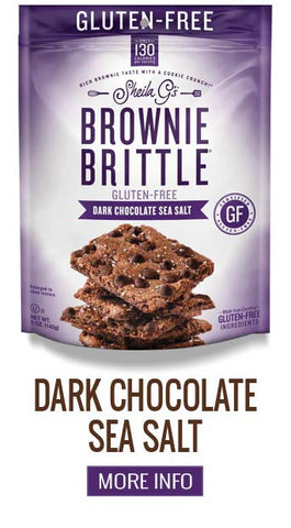 Gluten Free Brownie Brittle Dark Chocolate Sea Salt - More Info