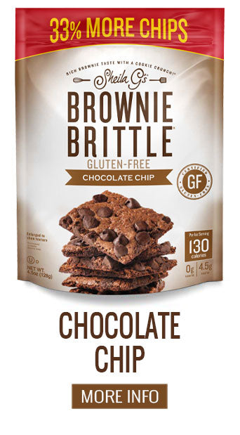 Gluten Free Brownie Brittle Chocolate Chip - More Info