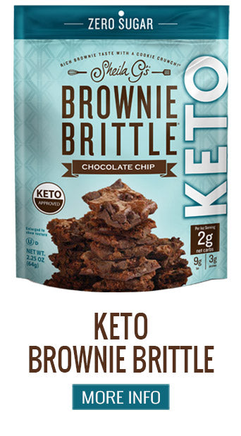 Keto Brownie Brittle