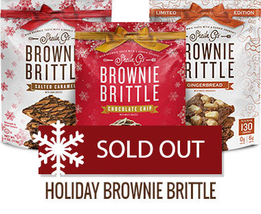 Holiday Brownie Brittle Sold Out