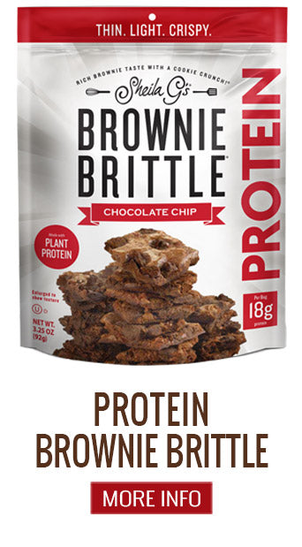 Protein Brownie Brittle