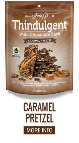 Thindulgent Caramel Pretzel Milk Chocolate Bark - More Info