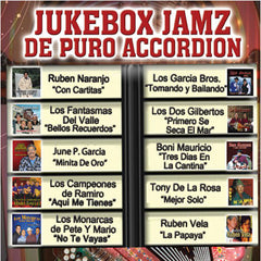 Tejano Jukebox Jamz: Puro Conjunto de Accordion