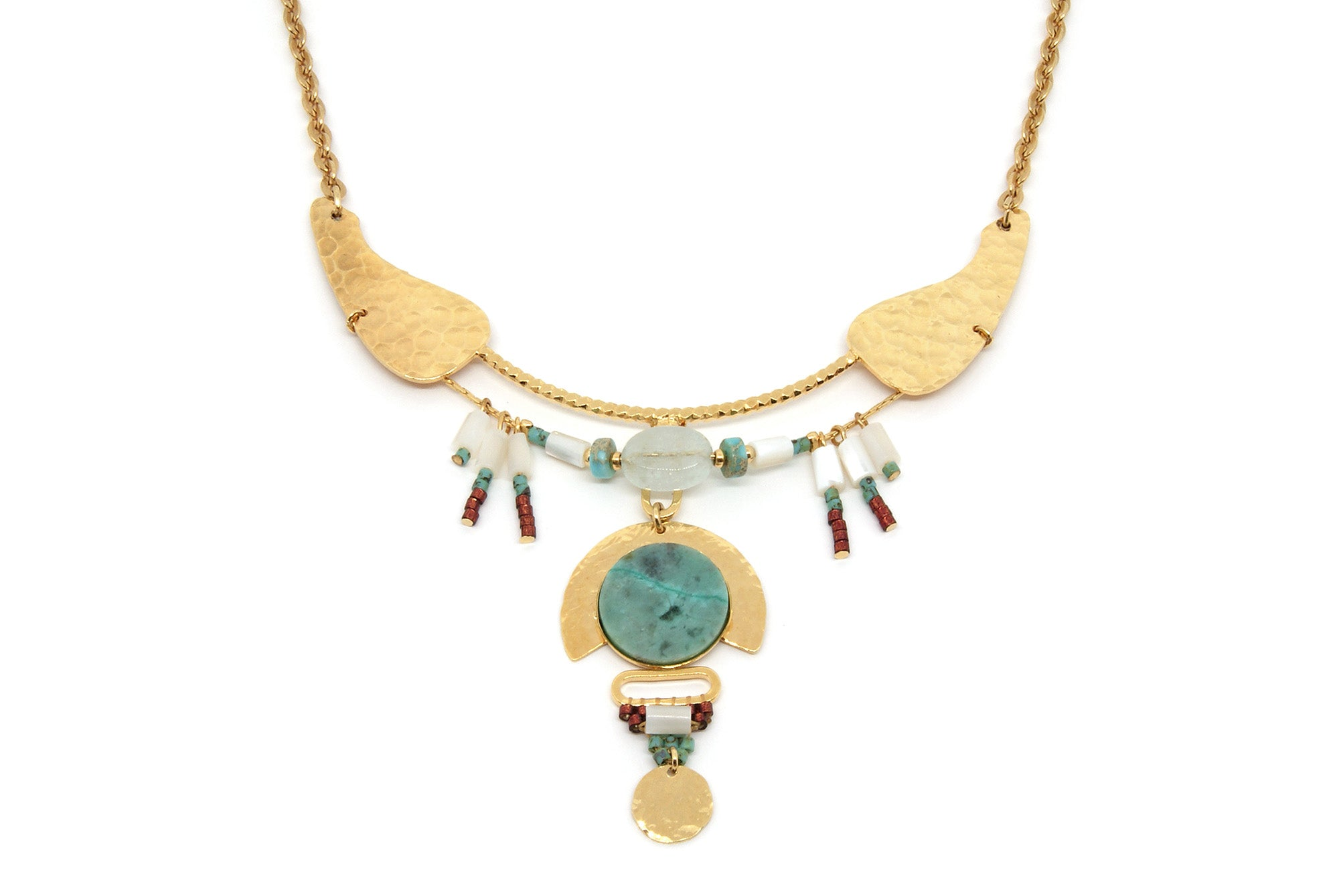 Collier AVANISH - Chrysocolle