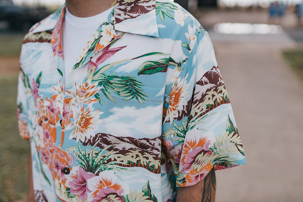 "Men's ""Le'ahi"" Hawaiian Shirt"