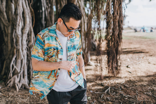 "Men's ""Hula"" Hawaiian Shirt"