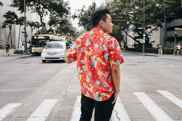 "Men's ""Paradise Angels"" Hawaiian Shirt"