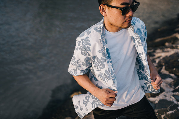 "Men's ""Pareau"" Aloha Shirt"