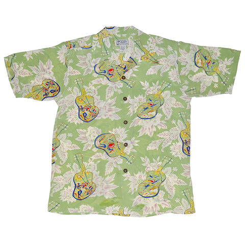 Men's Ukulele Hawaiian Shirt