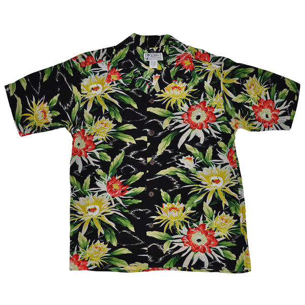 Men's Night Blooming Cereus Hawaiian Shirt
