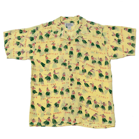 Men's Hula Hands Hawaiian Shirt