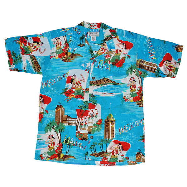 Junior Aloha Greeting Hawaiian Shirt