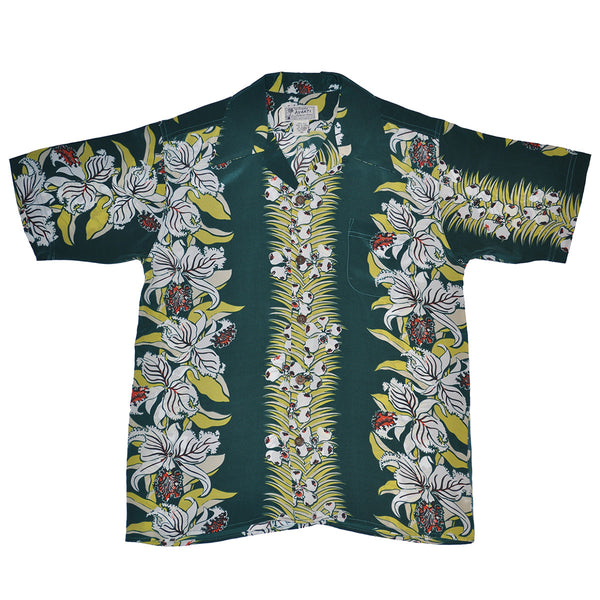 Junior Orchid Panel Hawaiian Shirt
