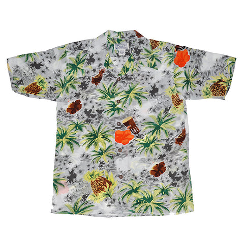 Men's Drum/Palm Hawaiian Shirt