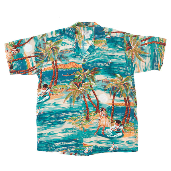 Men's Hula Hawaiian Shirt