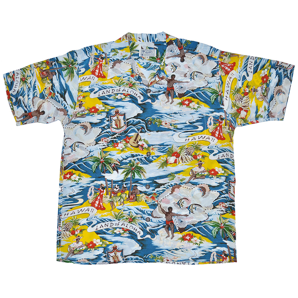 Junior Land of Aloha Hawaiian Shirt