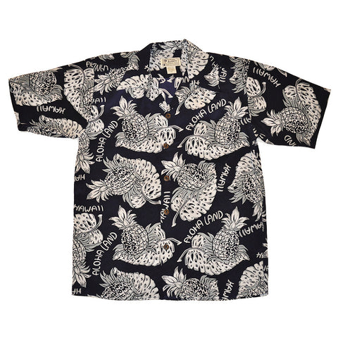 Men's Aloha Land Hawaiian Shirt
