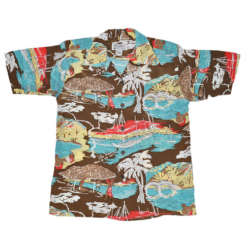 Men's Ala Moana Hawaiian Shirt