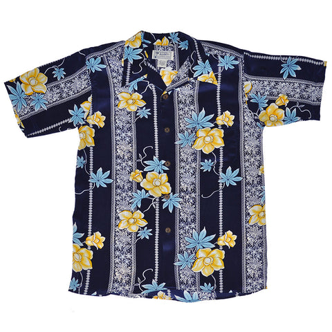 Men's Floral Lace Hawaiian Shirt