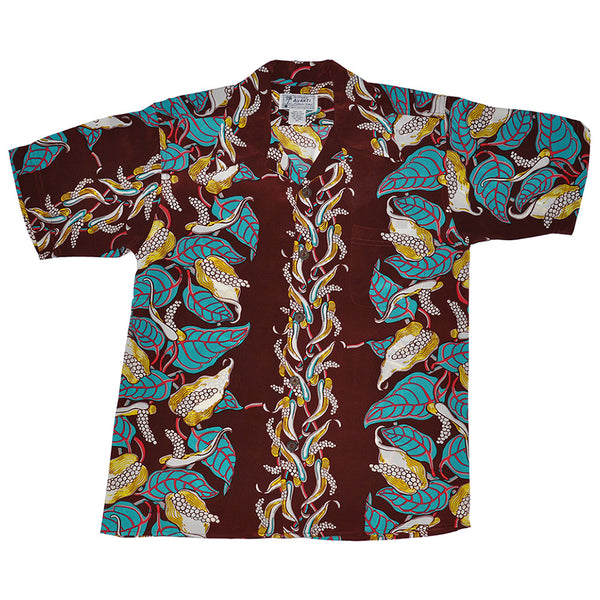 Junior Anthurium Garden Hawaiian Shirt