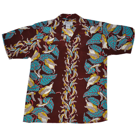 Men's Anthurium Garden Hawaiian Shirt
