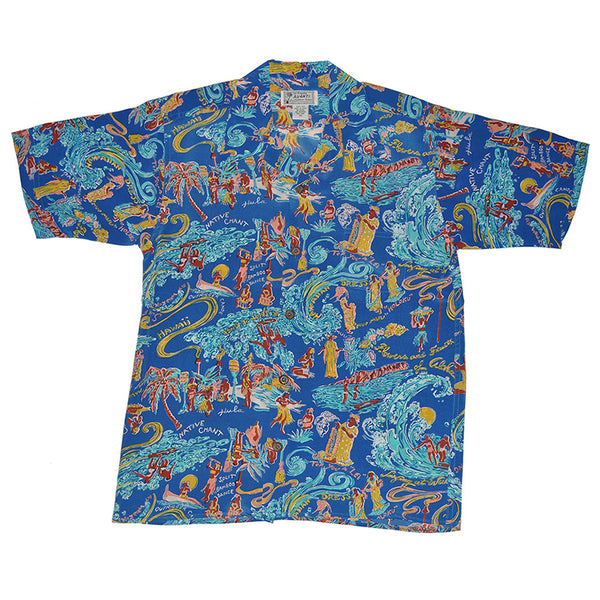 Junior Waikiki Surf Hawaiian Shirt