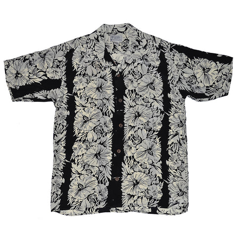 Men's Hibiscus Panel Hawaiian Shirt