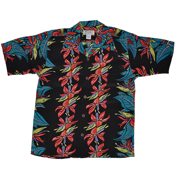 Junior Neon Tropics Hawaiian Shirt