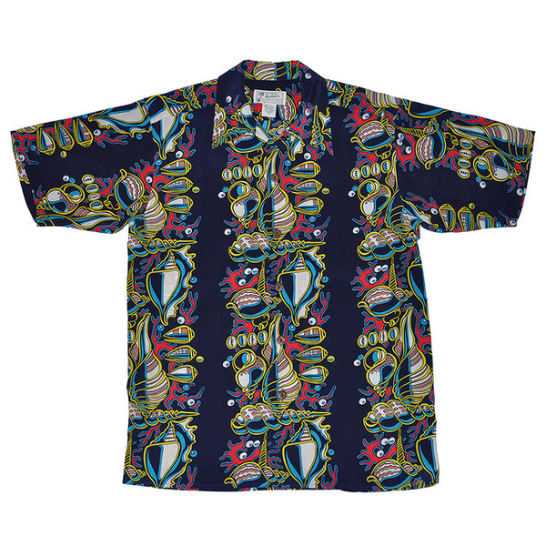 Men's Seashells Hawaiian Shirt