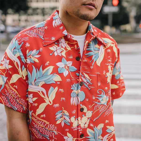 Men's Paradise Angels Hawaiian Shirt