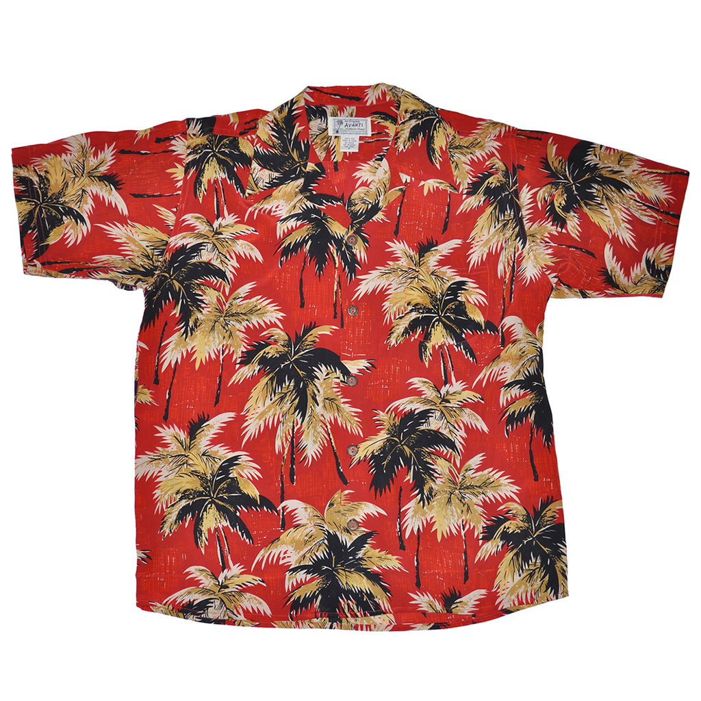 f3ba72bfb Breeze Hawaiian Shirt - Red | Avanti Hawaiian Shirts - Aloha Shirts ...