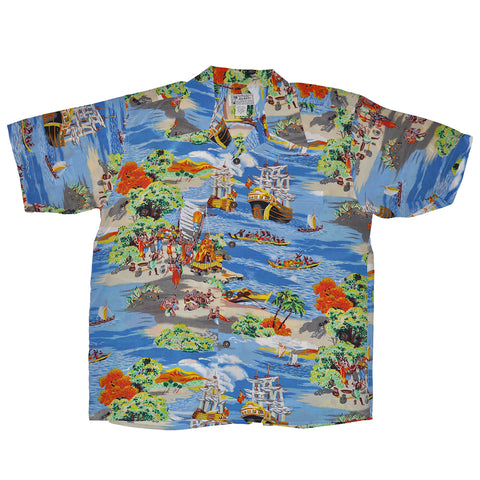 Men's Captain Cook Hawaiian Shirt
