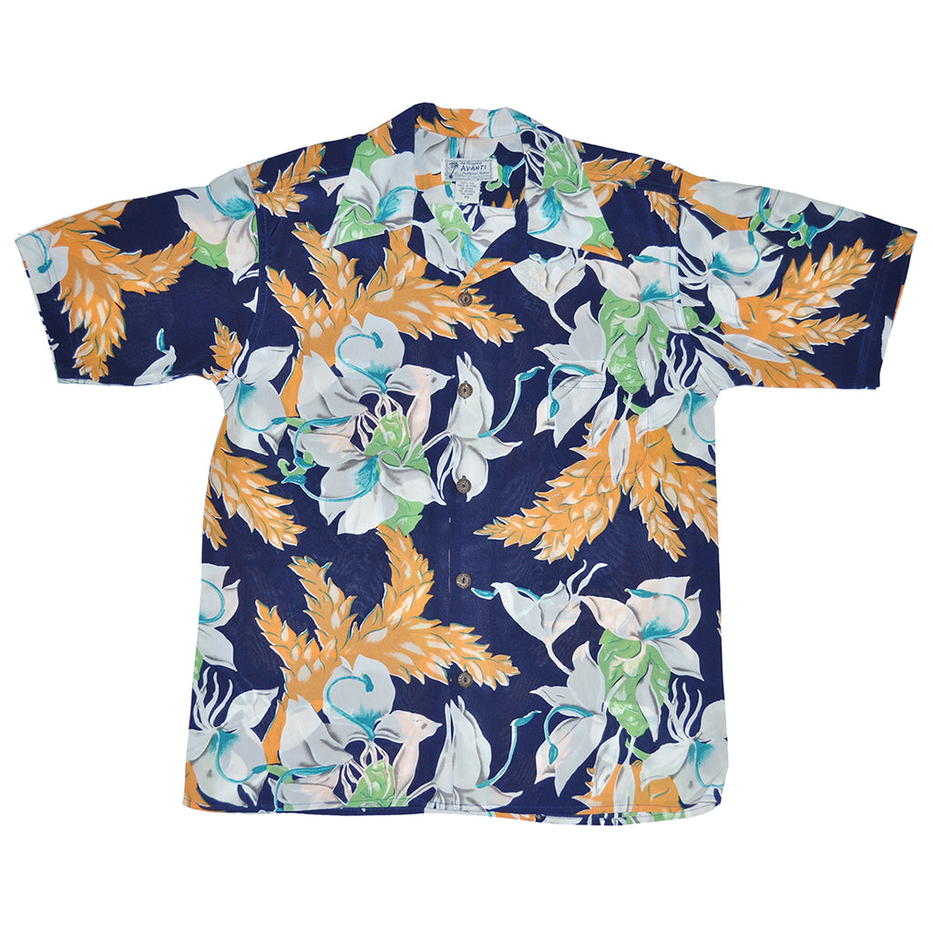 Junior Island Floral Hawaiian Shirt