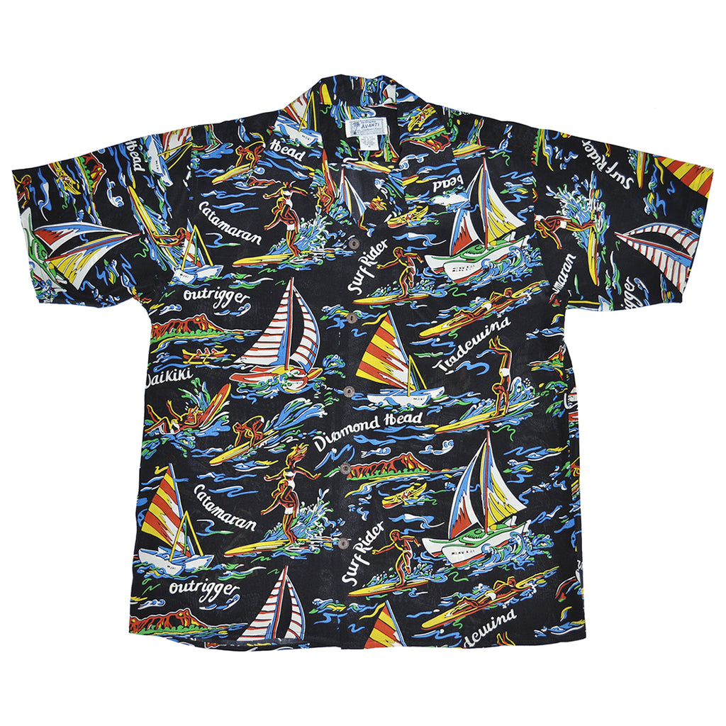 Junior Catamaran Hawaiian Shirt