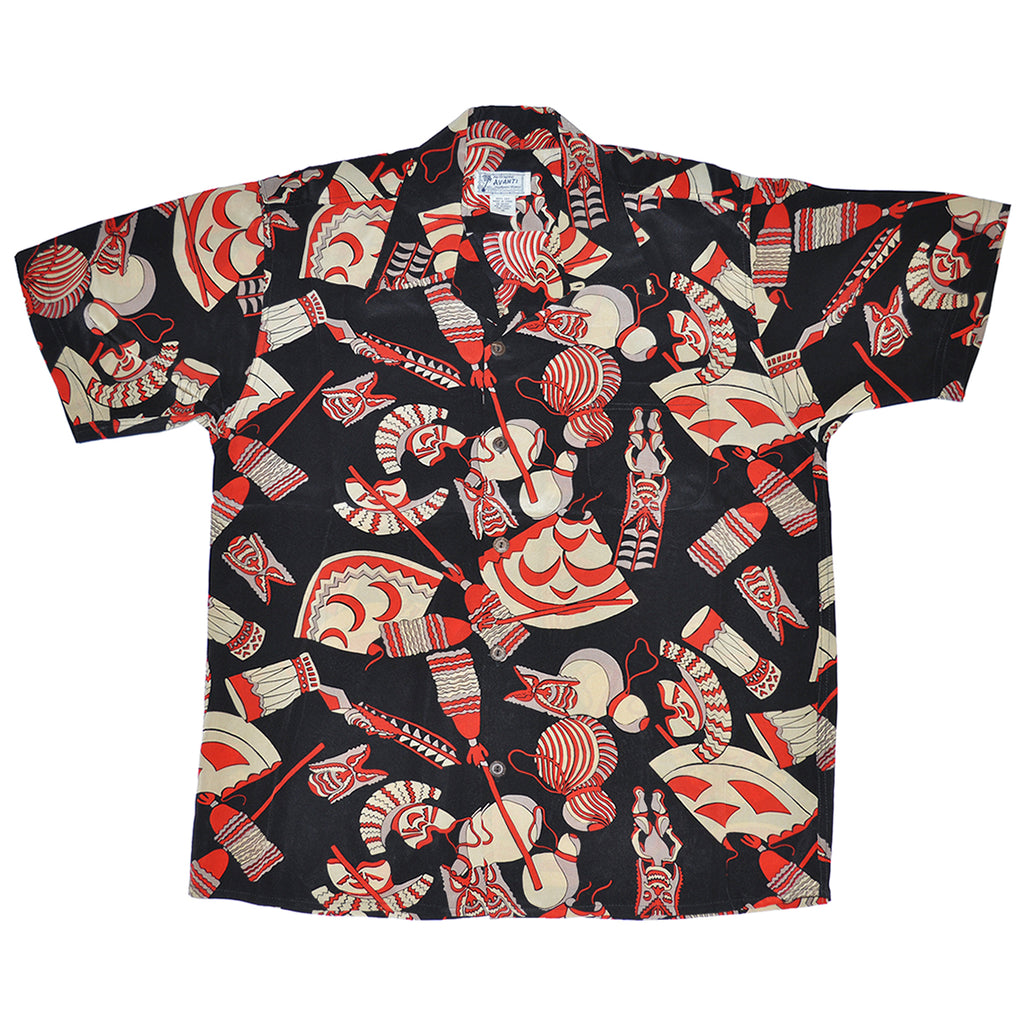 Junior Kane Symbols Hawaiian Shirt