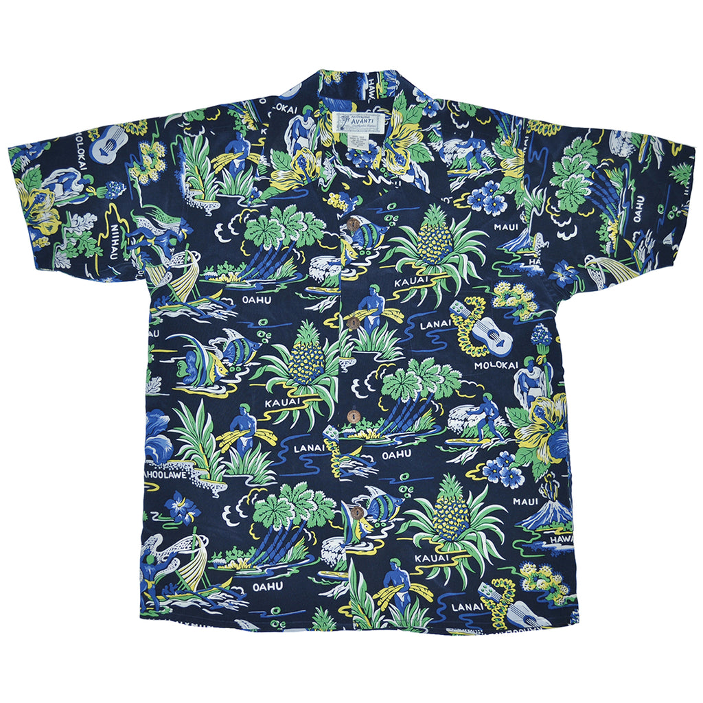 Men's Neighbor Islands Hawaiian Shirt