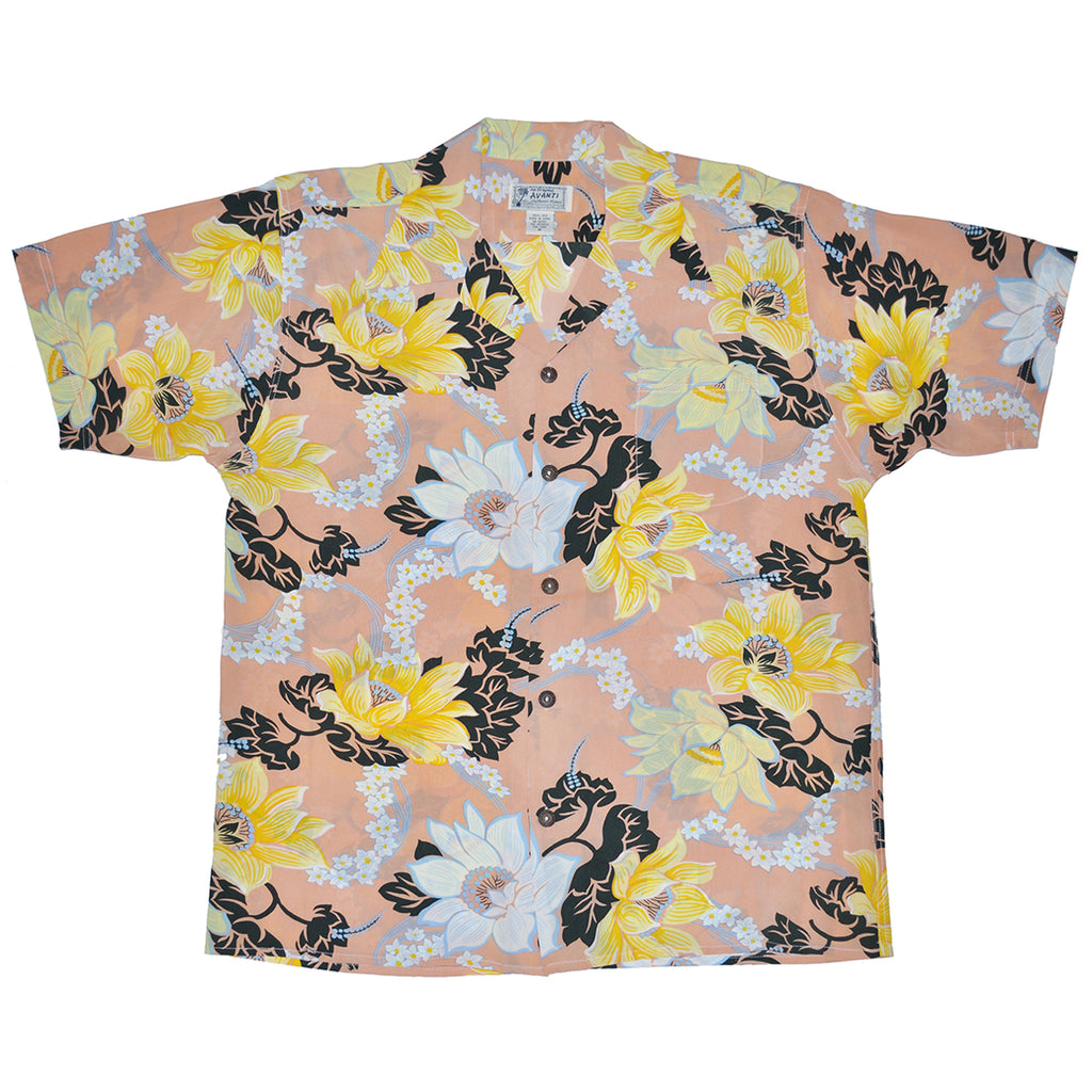 Junior Keanu Hawaiian Shirt - Blossom Pink