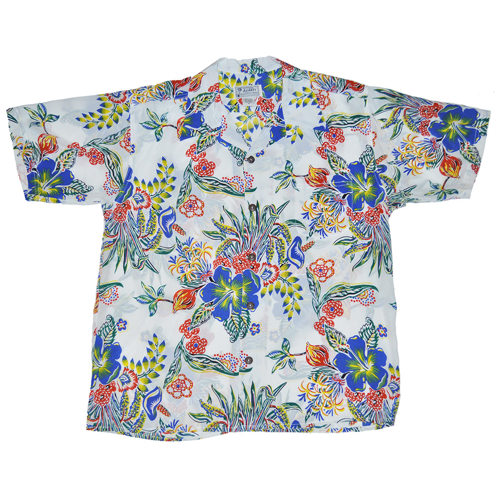 Men's Floral Groove Hawaiian Shirt