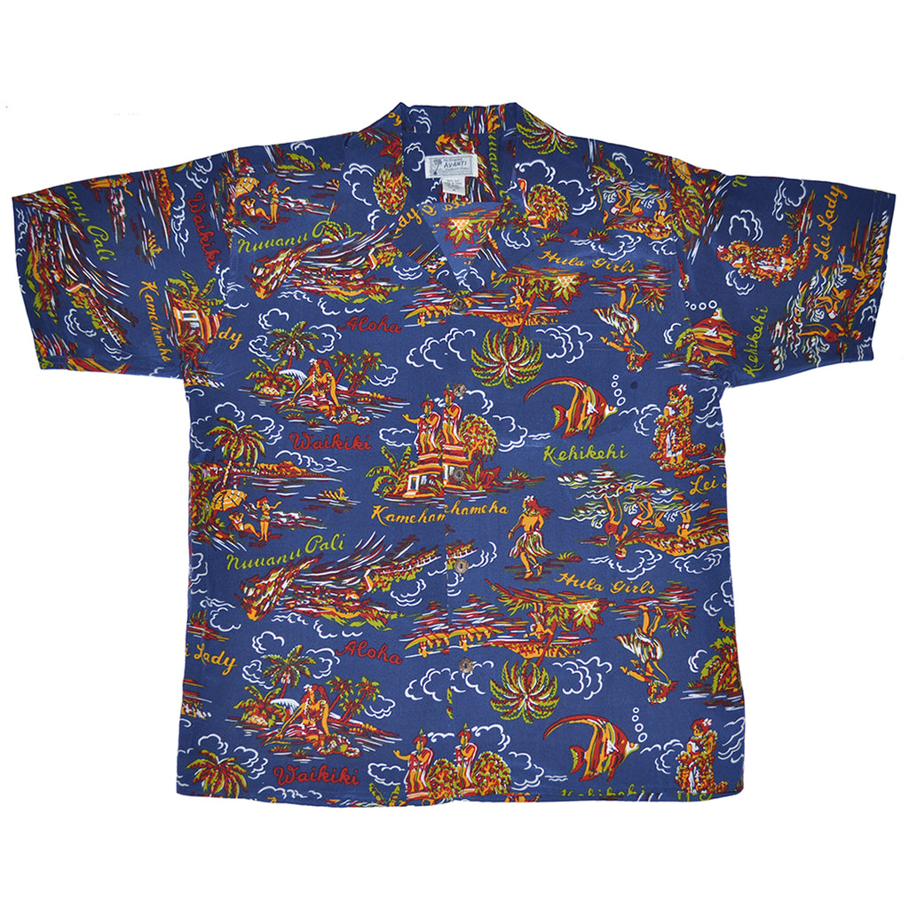 Men's Ho'okipa Hawaiian Shirt