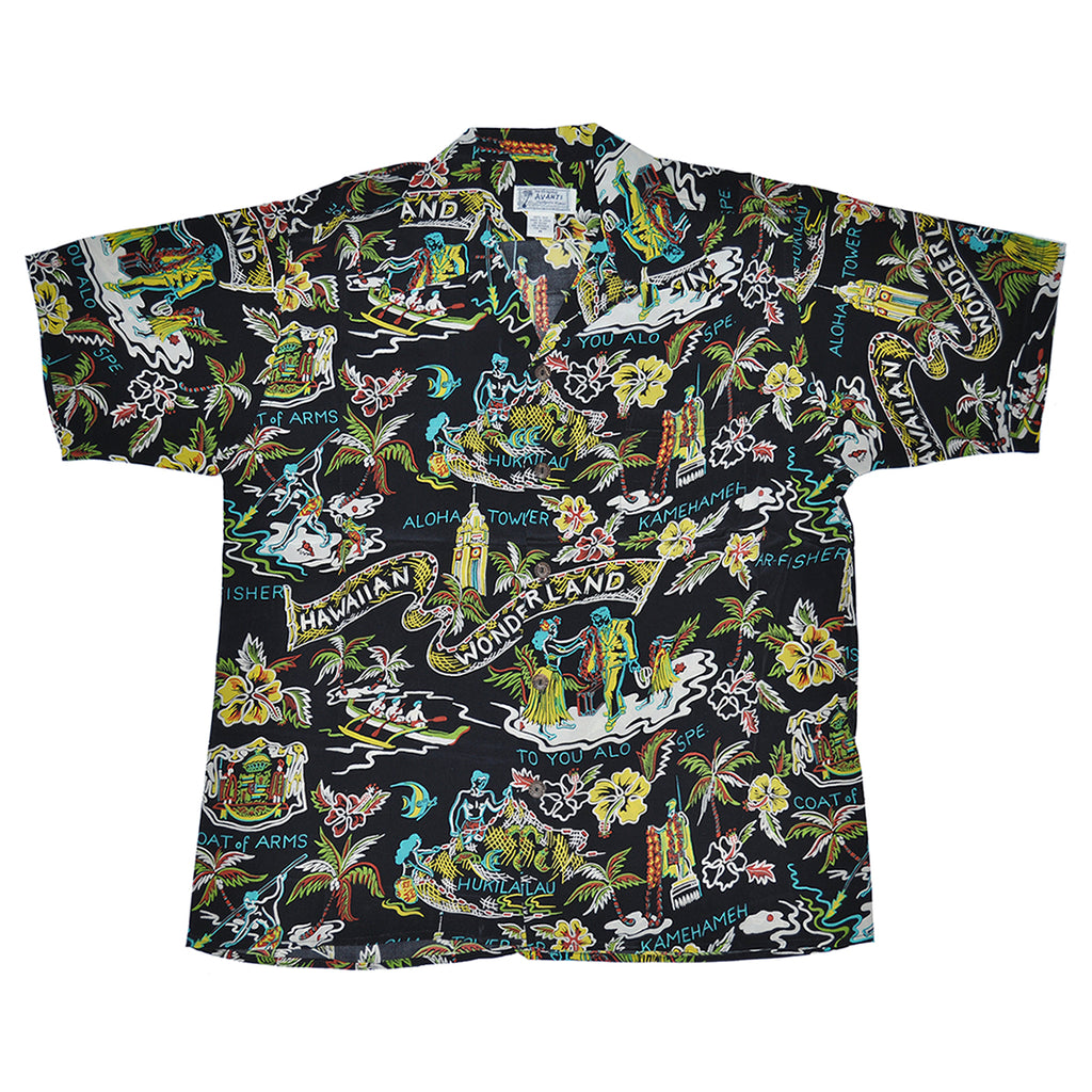 Men's Wonderland Hawaiian Shirt