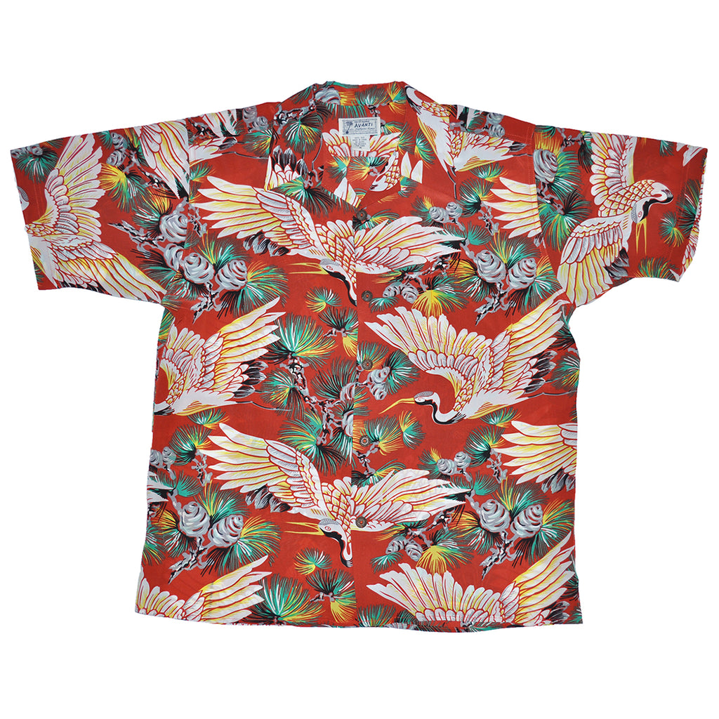 Junior Thousand Years Hawaiian Shirt - Red