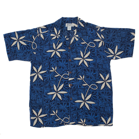 Men's Blue Hawaii Hawaiian Shirt