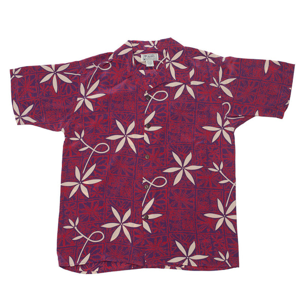 Junior Blue Hawaii Hawaiian Shirt