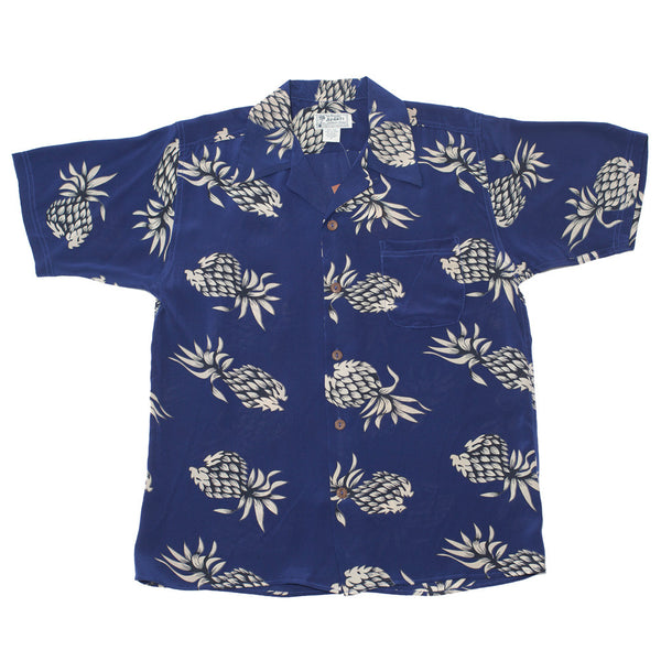 Junior Pineapple Hawaiian Shirt