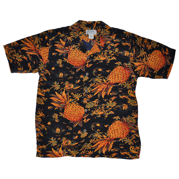 Junior Pineapple Hut Hawaiian Shirt